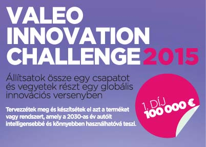 Valeo Innovation Challenge 2015 web