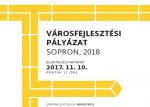 Építőkockák Városfejlesztési Pályázat 2018