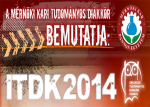 2014 évi Intézményi TDK Konferencia