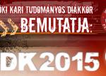 2015 évi Intézményi TDK Konferencia