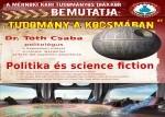 Tudomány a kocsmában - Politika és science-fiction