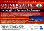 Univerzális Műhelyfoglalkozások - Látogatás a Pannon Csillagdában